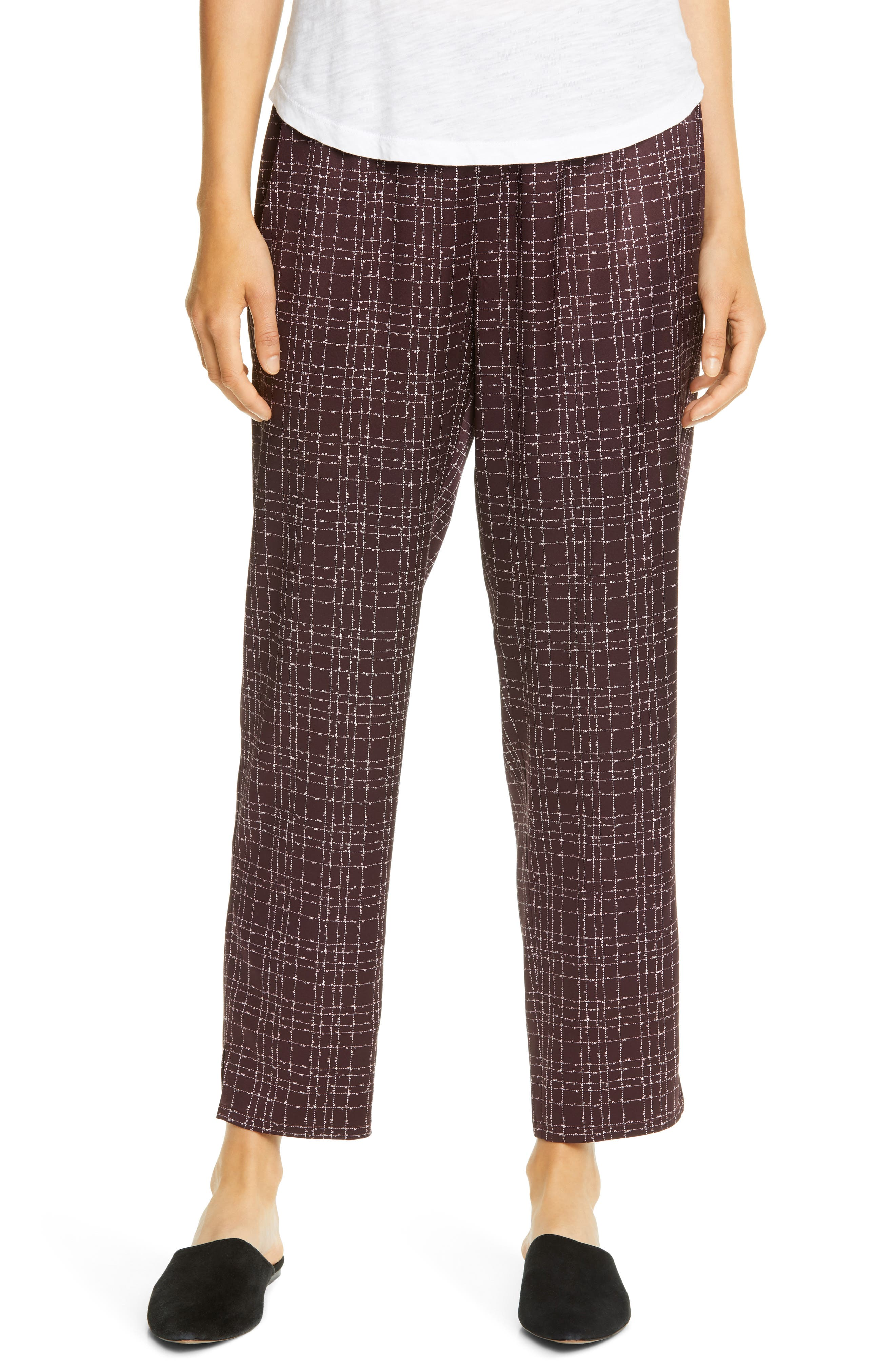 Image of Eileen Fisher Tapered Pants