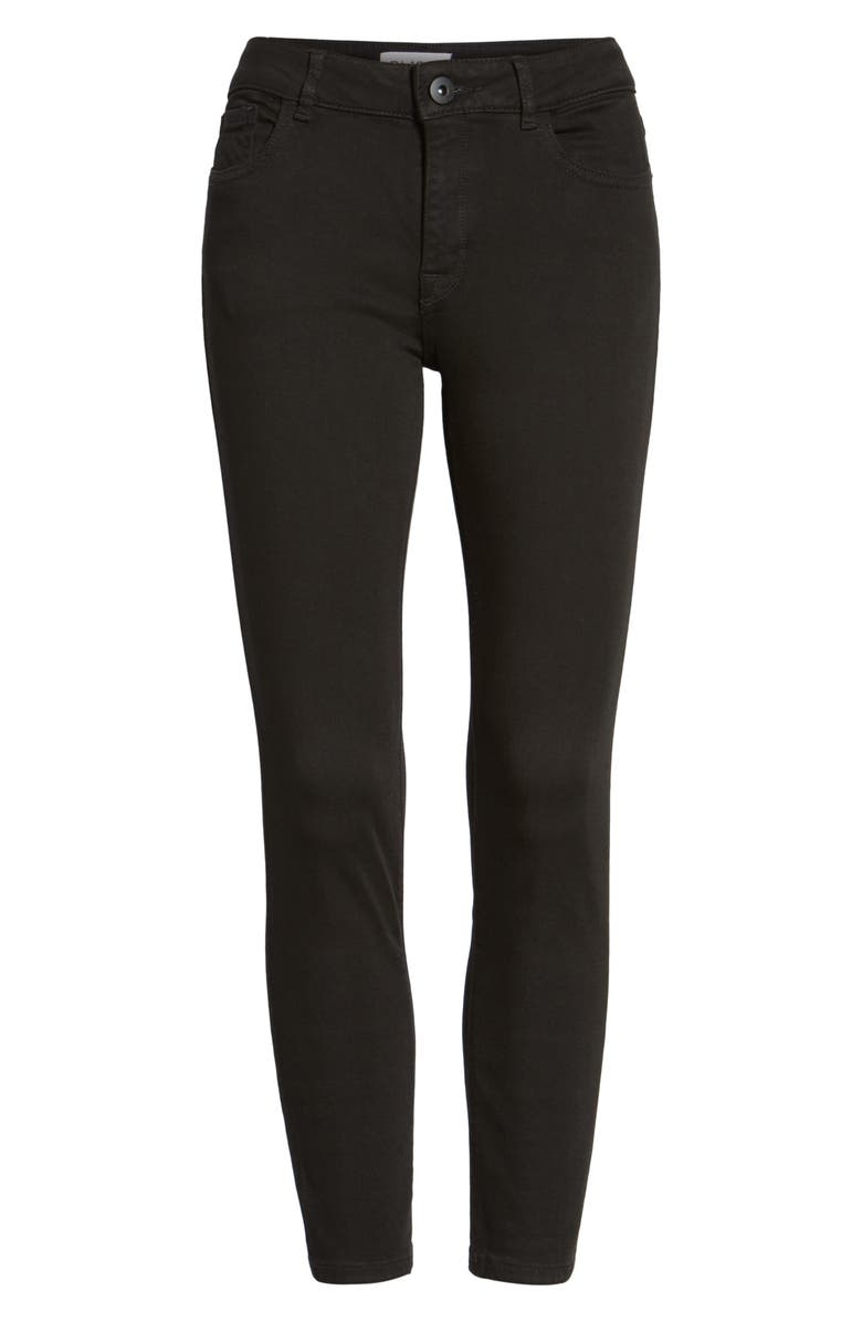 DL1961 Florence Instasculpt Crop Skinny Jeans, Main, color, HAIL