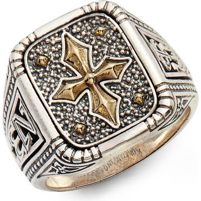 Konstantino Stavros Square Signet Ring
