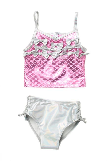 Image of Flapdoodles Mermaid Scales 2-Piece Swimsuit