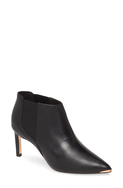 Image of Ted Baker London Leather Point Toe Bootie