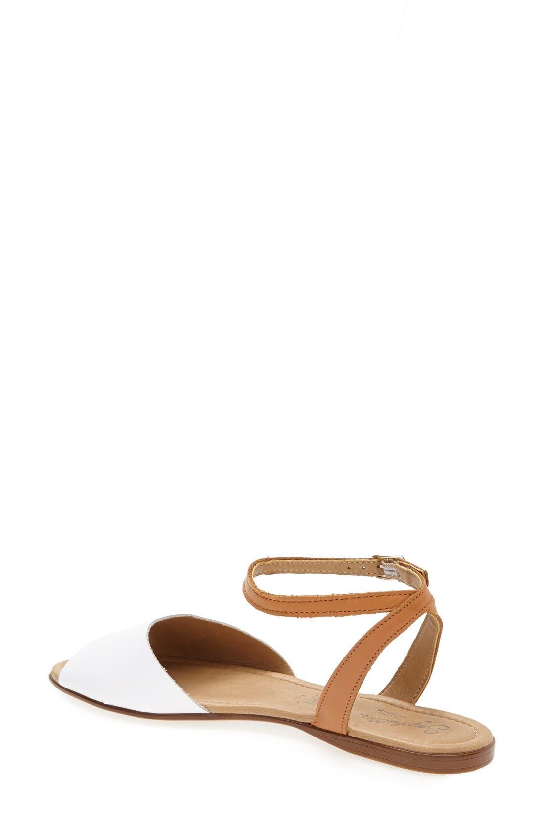 ,                             'Brand New' Ankle Strap Calf Hair Sandal,                             Alternate thumbnail 12, color,                             110