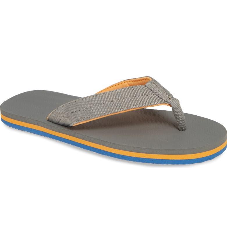 HARI MARI Dunes Flip Flop, Main, color, GRAY