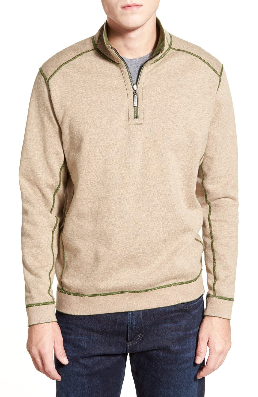 ,                             'Flip Side' Reversible Quarter Zip Pullover,                             Alternate thumbnail 47, color,                             301