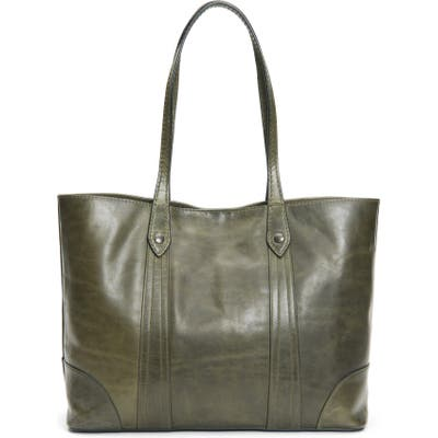 Frye Melissa Leather Shopper - Green