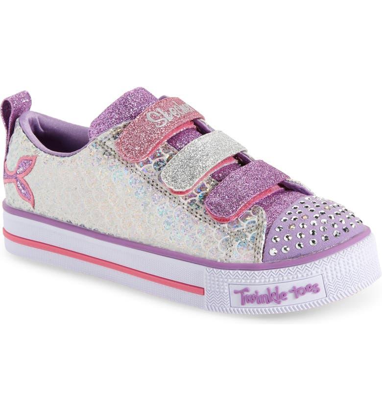 SKECHERS Twinkle Lite Sneaker, Main, color, 040