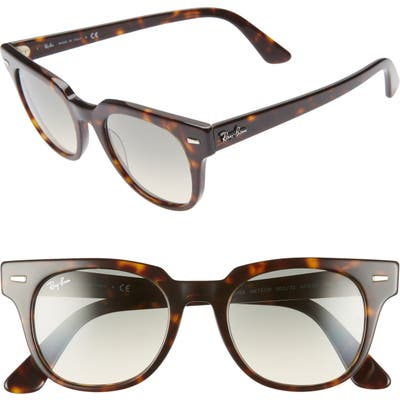 Ray-Ban Meteor 50Mm Gradient Wayfarer Sunglasses - Havana Gradient