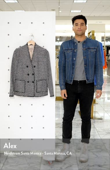 Cotton Blend Tweed Jacket, sales video thumbnail