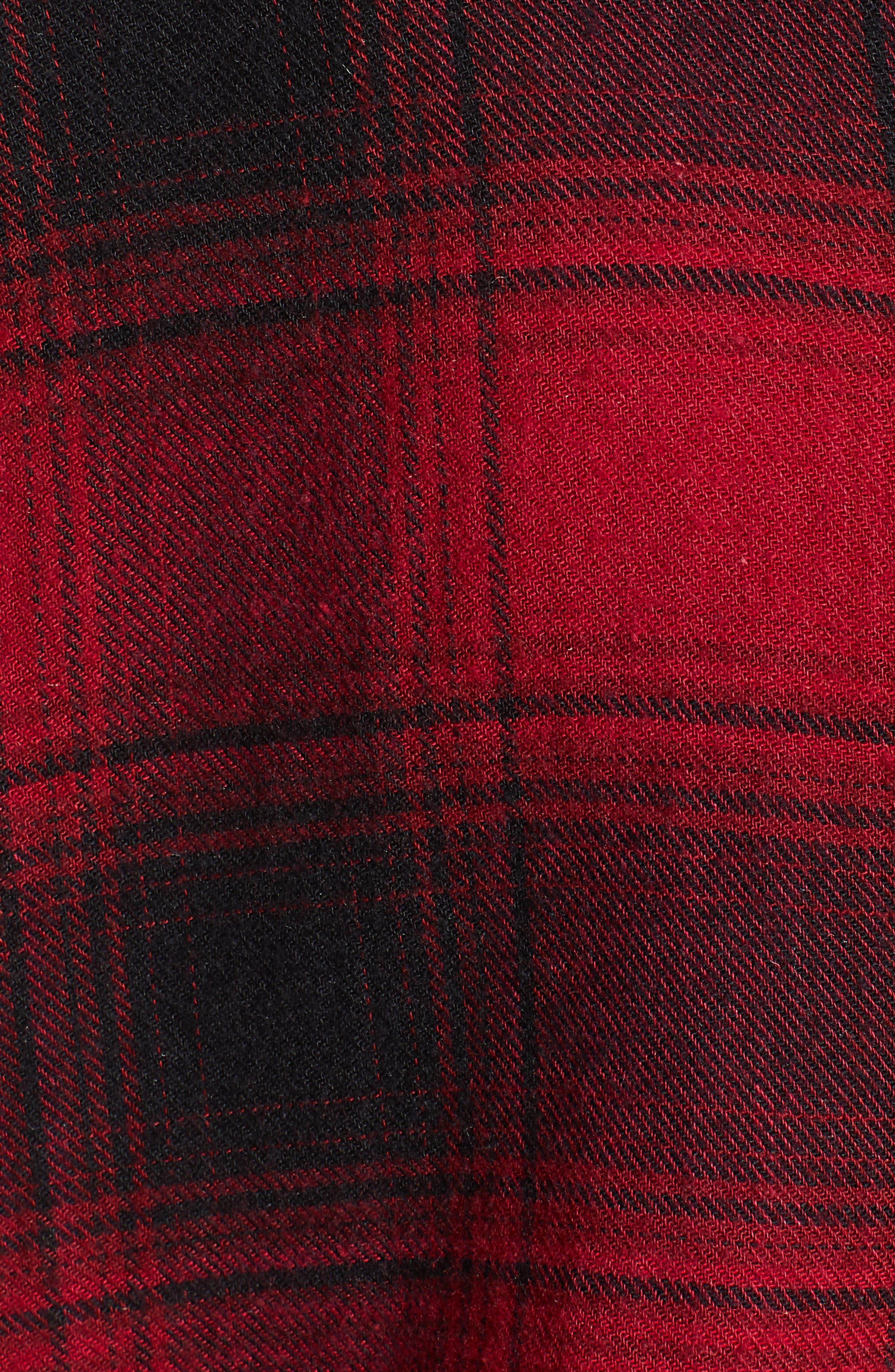 ,                             Hunter Plaid Shirt,                             Alternate thumbnail 221, color,                             011