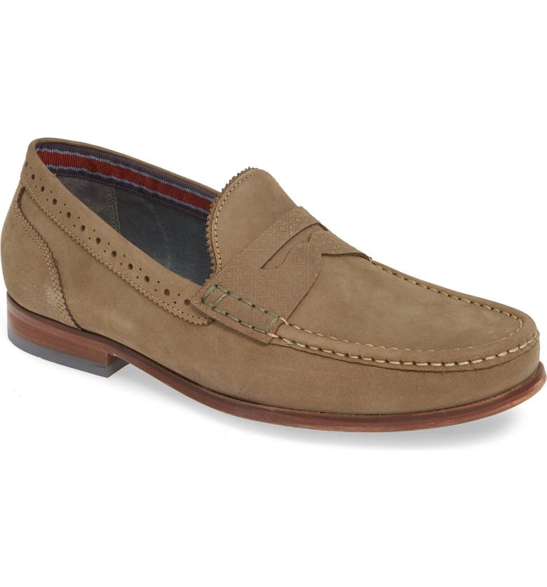 TED BAKER LONDON Renver Penny Loafer, Main, color, 035