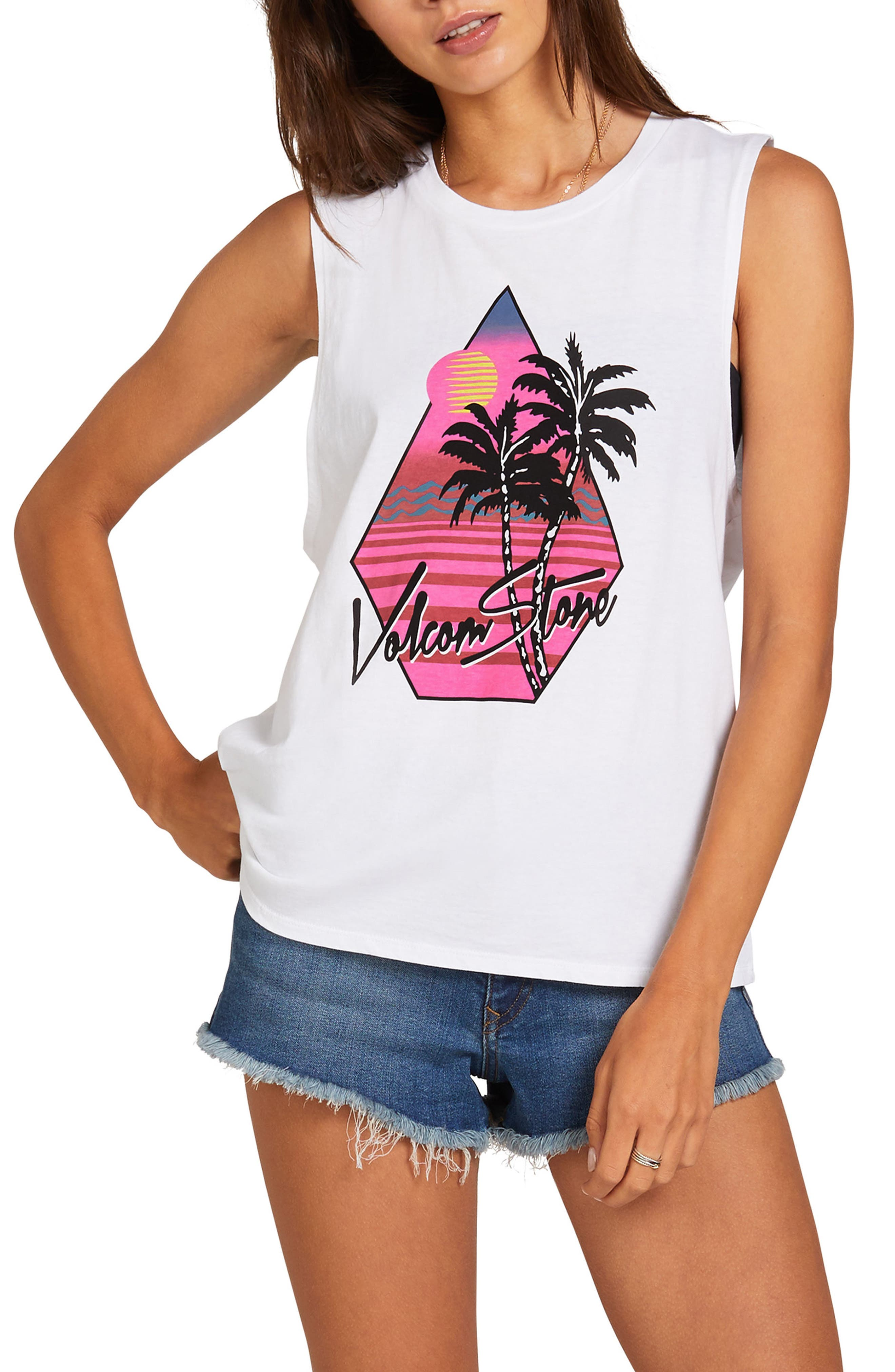 Image of Volcom Stone Hour Muscle Tank