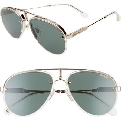 Carrera Glory 5m Aviator Sunglasses - Crystal