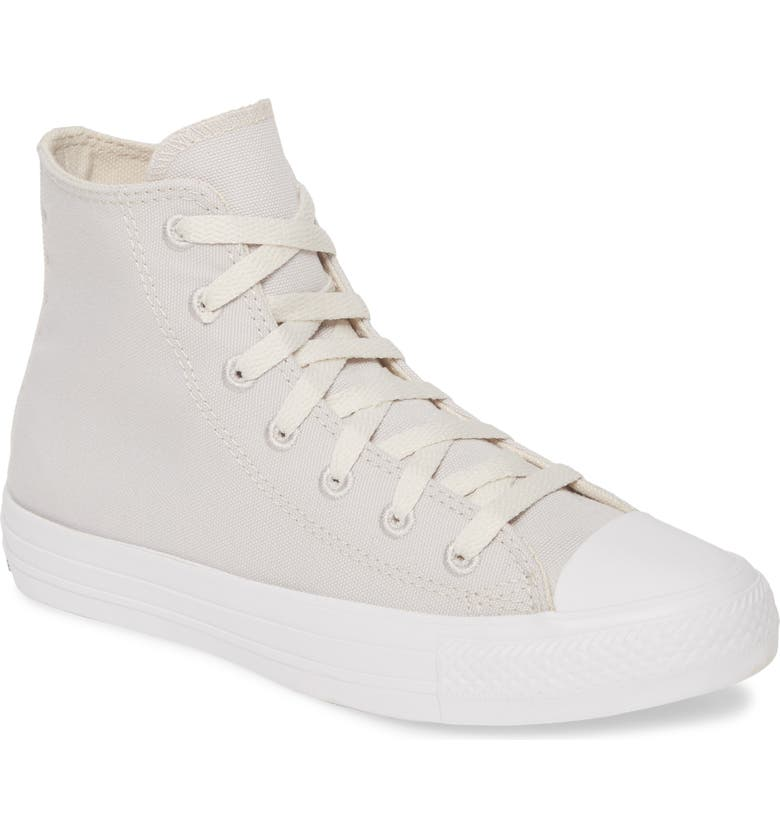 CONVERSE Chuck Taylor<sup>®</sup> All Star<sup>®</sup> Renew High Top Sneaker, Main, color, PALE PUTTY/ BLACK/ WHITE