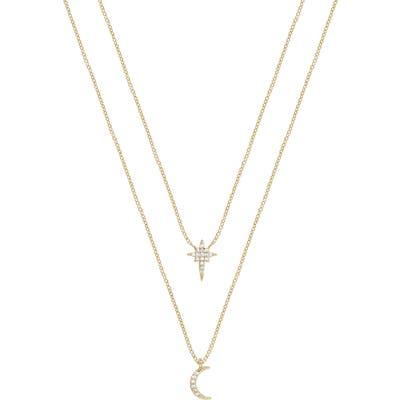 Ettika Celestial Set Of 2 Pendant Necklaces