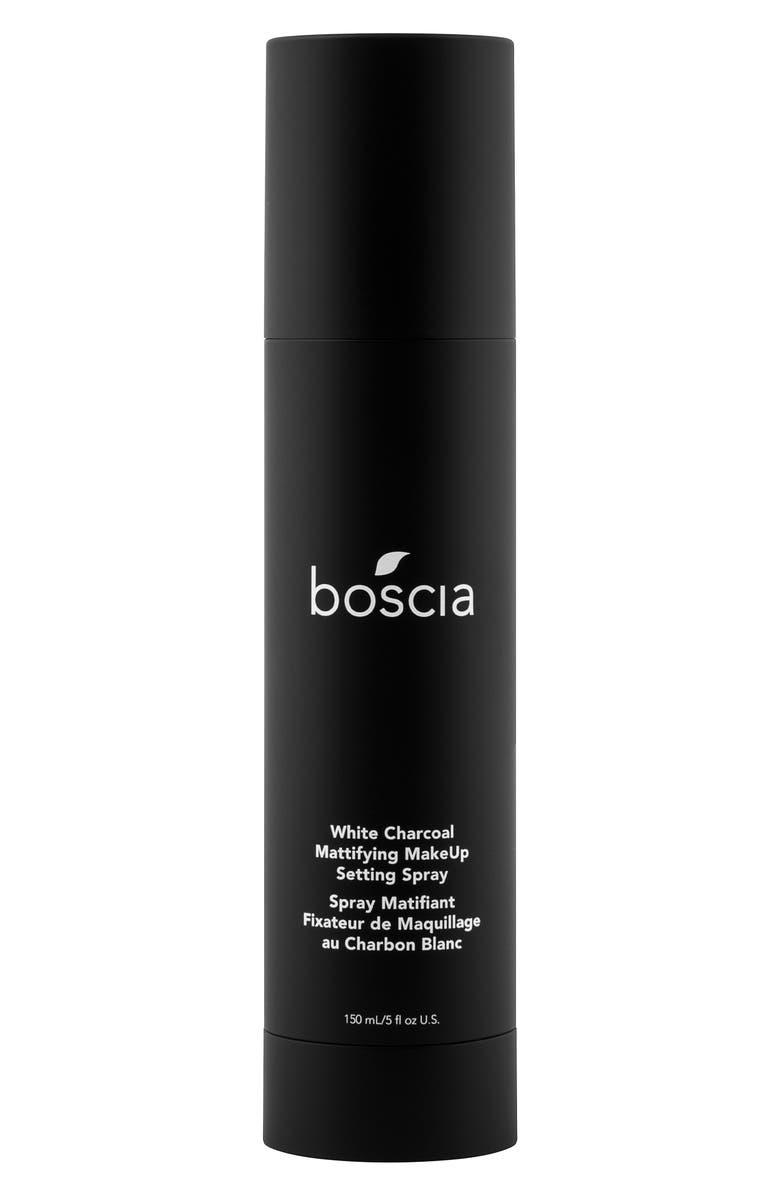 BOSCIA White Charcoal Mattifying Makeup Setting Spray, Main, color, 000