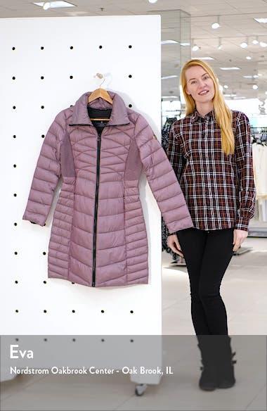 Packable EcoPlume Walker Coat, sales video thumbnail