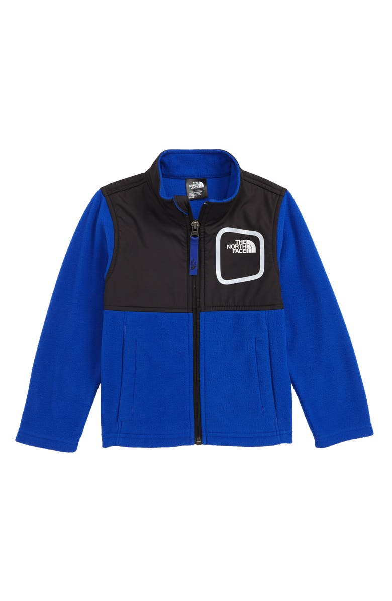 THE NORTH FACE Peril Glacier Microfleece Track Jacket, Main, color, TNF BLUE