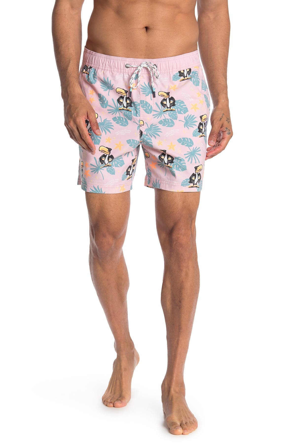 Image of PARTY PANTS Youcan Stan Swim Shorts