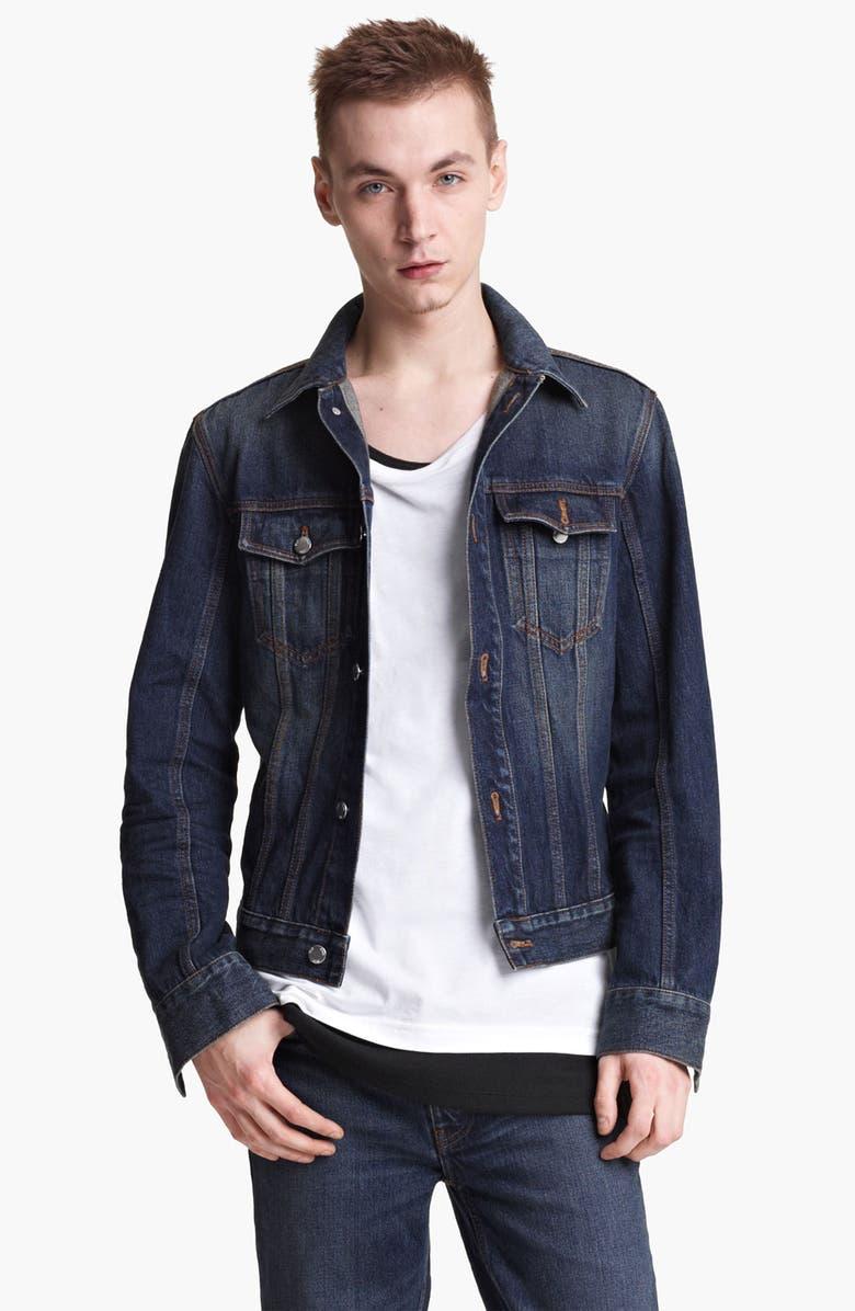 BLK DNM 'Jeans Jacket 5' Stonewashed Denim Jacket, Main, color, 472