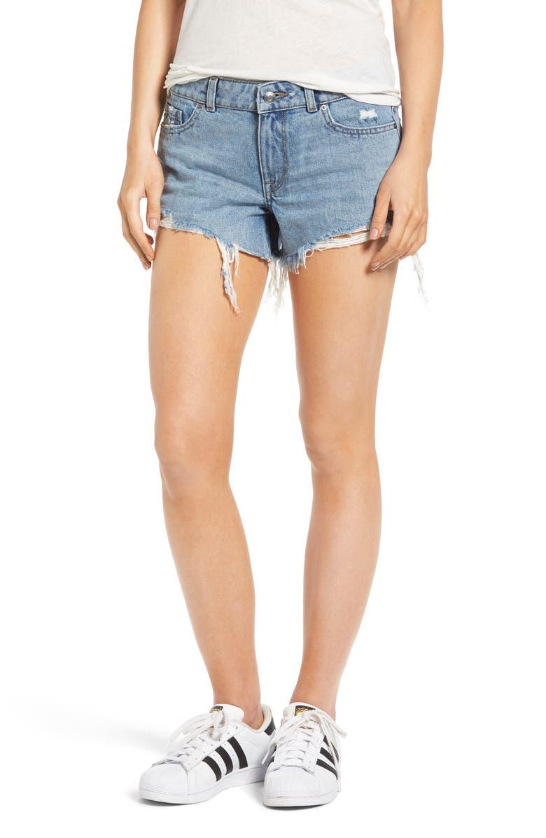 DL1961 Renee Cutoff Denim Shorts, Main, color, 405