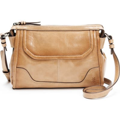 Frye Mel Leather Crossbody Bag - Brown