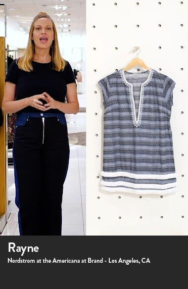 Take a Dip Plunge Neck Fringe Cover-Up Dress, sales video thumbnail