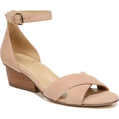 Naturalizer Caine Ankle Strap Sandal W - Beige