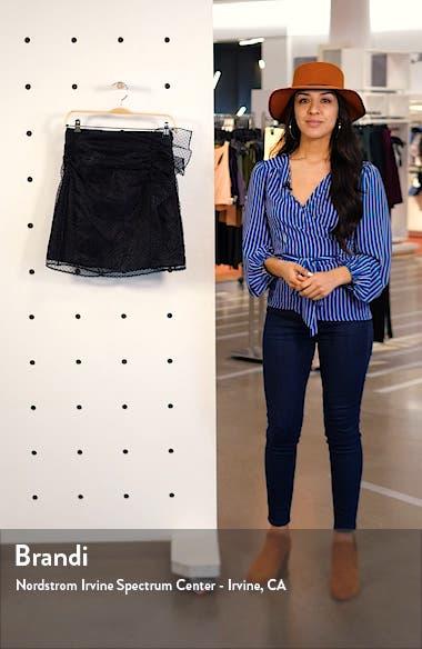 Organza Spot Miniskirt, sales video thumbnail
