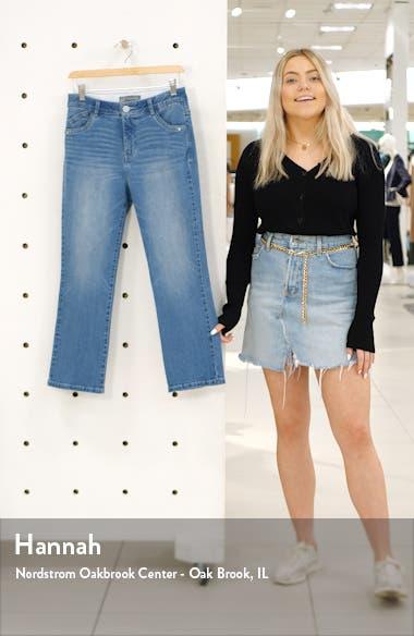 High Waist Kick Flare Jeans, sales video thumbnail