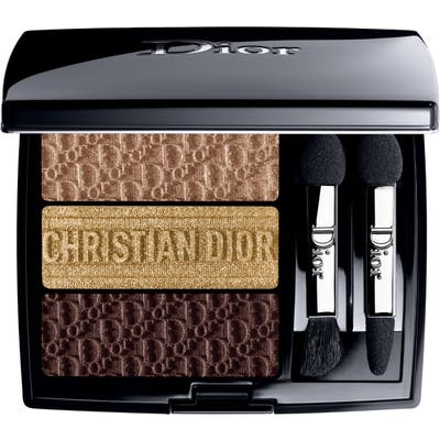 Dior 3 Couleurs Tri(O)Blique Eyeshadow Palette - 555 Earthy Canvas