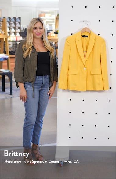 Bonnie Wool Blend Blazer, sales video thumbnail