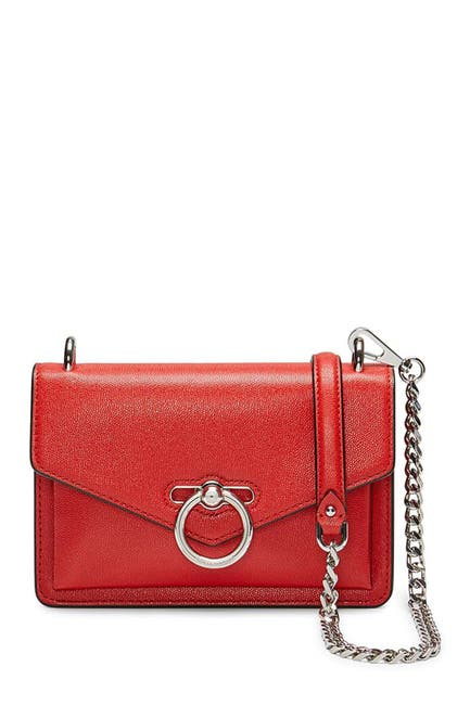 Image of Rebecca Minkoff Jean Pebbled Leather Crossbody Bag