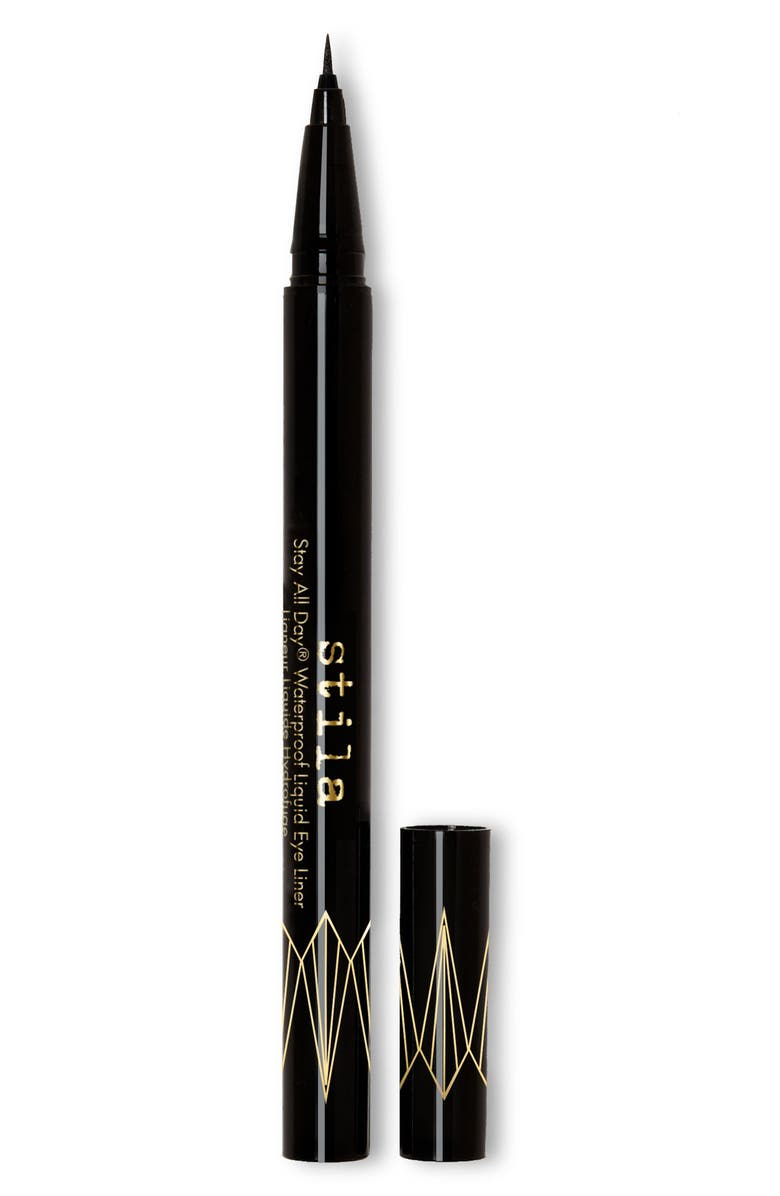 STILA Stay All Day<sup>®</sup> Waterproof Micro Tip Liquid Eyeliner, Main, color, INTENSE BLACK