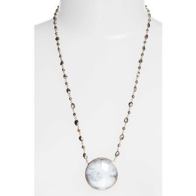 Ela Rae Morah Semiprecious Stone Necklace