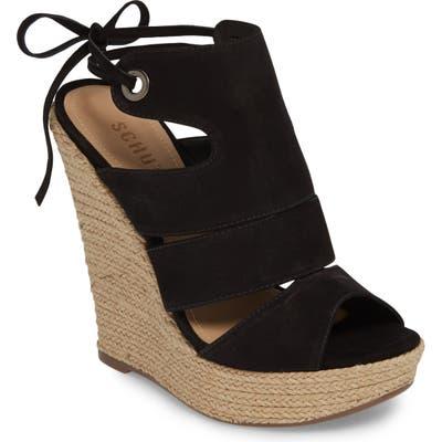 Schutz Ilione Platform Wedge Sandal