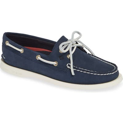 Sperry 2-Eyelet Boat Shoe, Blue