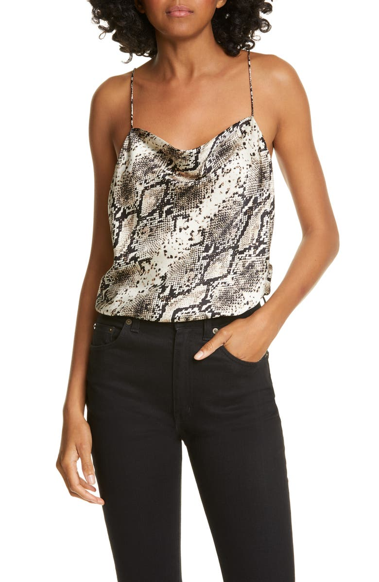 CAMI NYC The Axel Bodysuit, Main, color, SNAKE