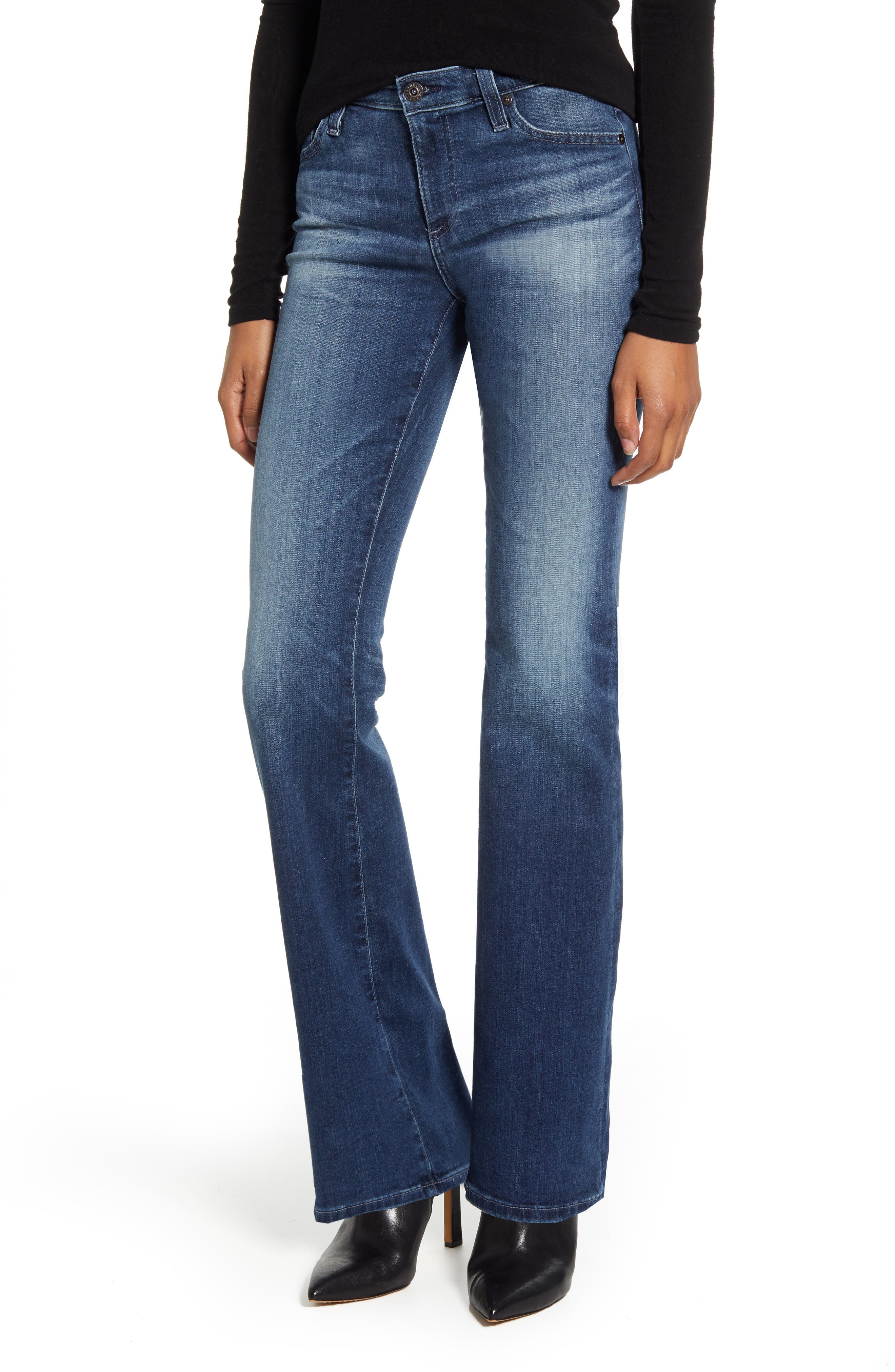 AG Angel Bootcut Jeans (05 Year Blue Essence)