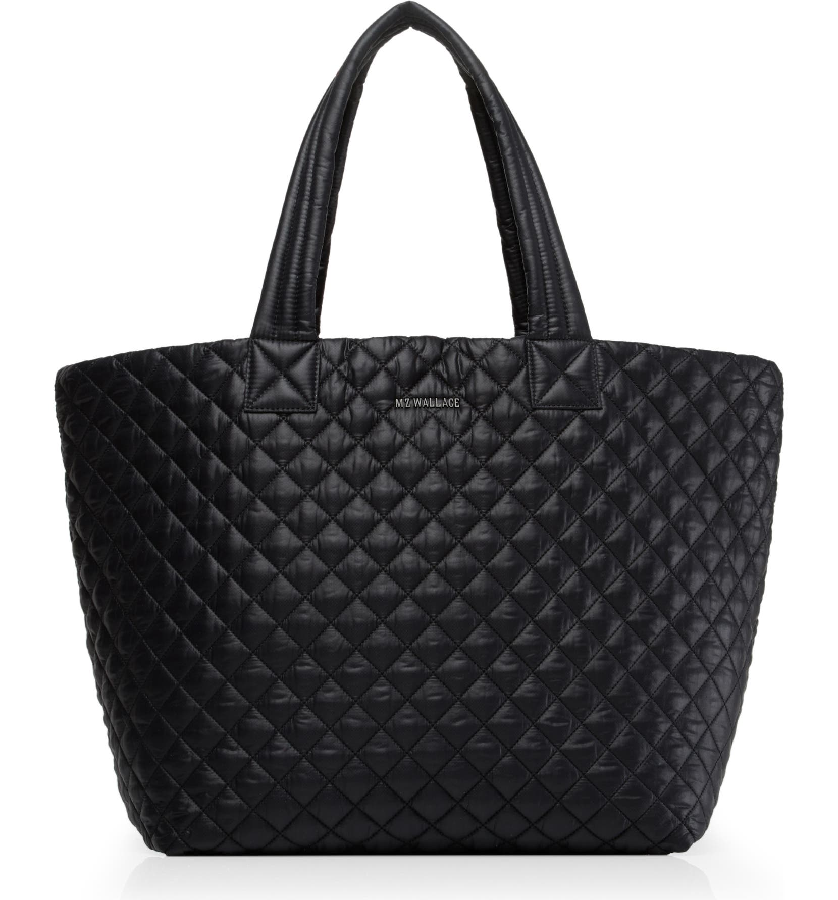 MZ WALLACE Large Metro Tote, Main, color, BLACK OXFORD - Hello Lovely Over 40 Winter Skin Care, Beauty & Wardrobe Essentials!