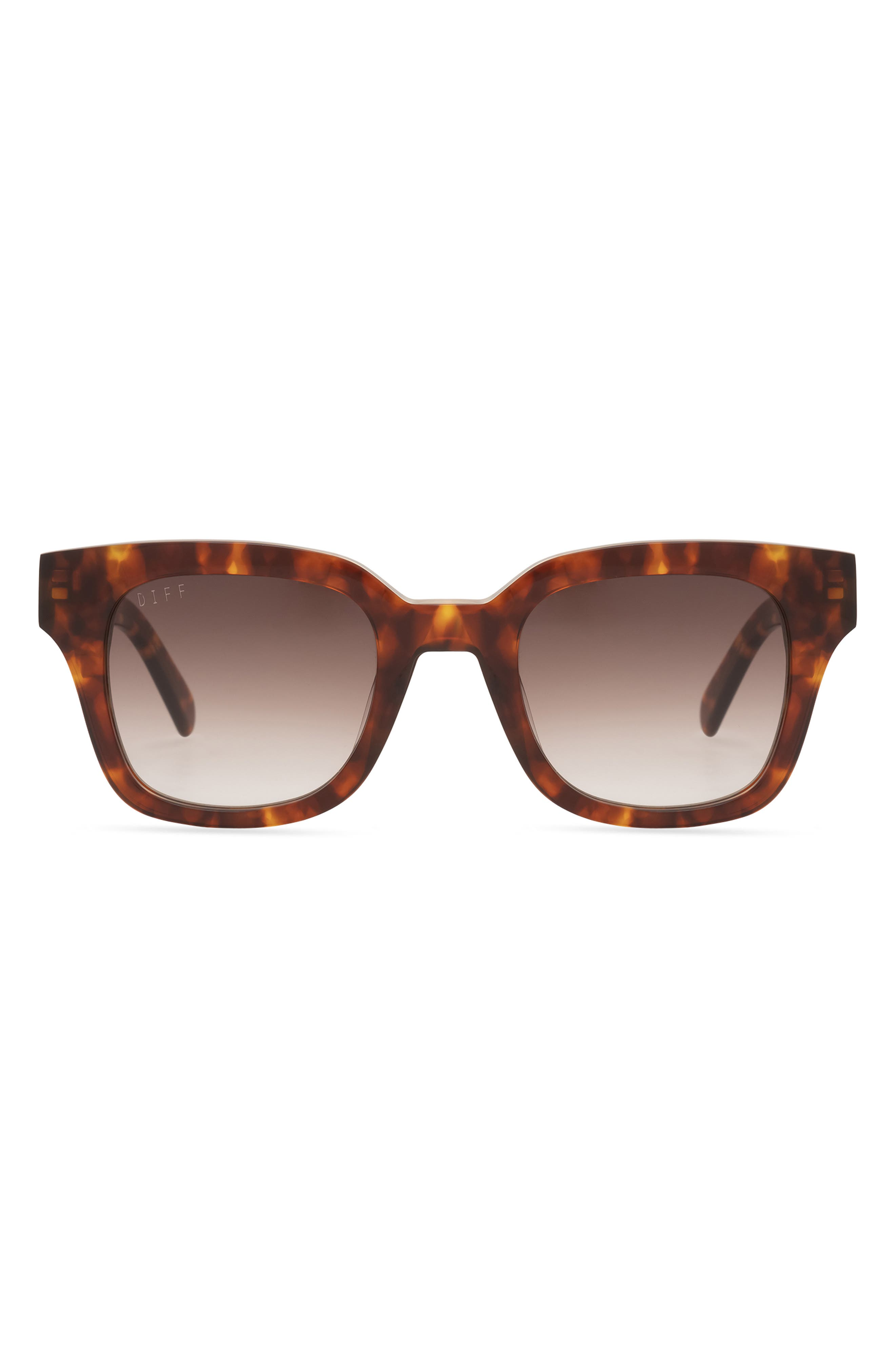 Jean 54mm Square Polarized Sunglasses