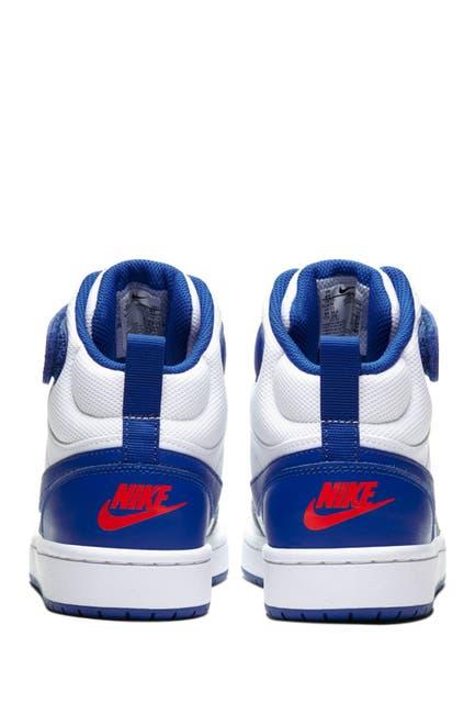 Image of Nike Court Borough Mid 2 Basketball Sneaker