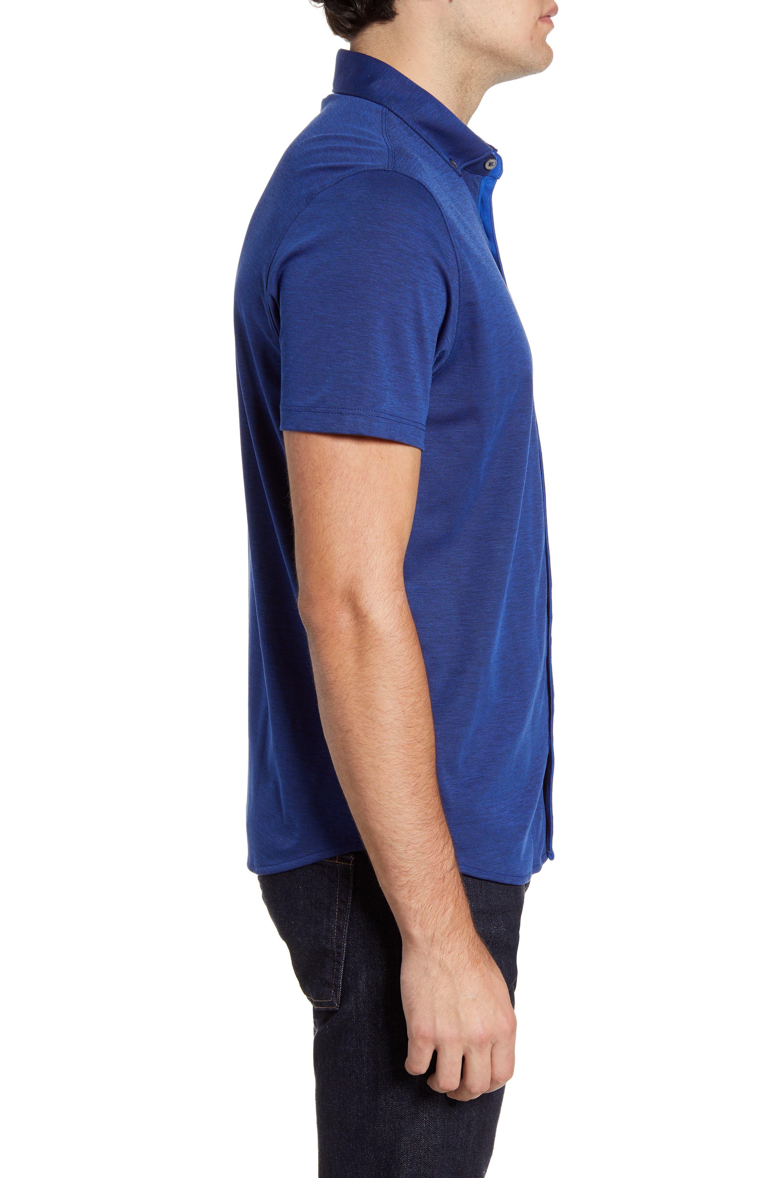,                             Caruth Regular Fit Short Sleeve Sport Shirt,                             Alternate thumbnail 27, color,                             432