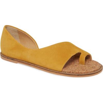 Lucky Brand Falinda Sandal, Yellow