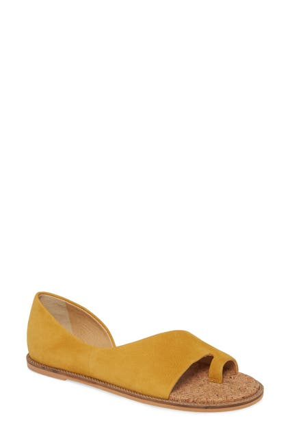Image of Lucky Brand Falinda Leather Toe Loop Sandal