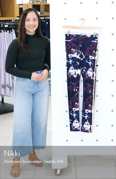 Royal Tie Dye Yoga Pants, sales video thumbnail