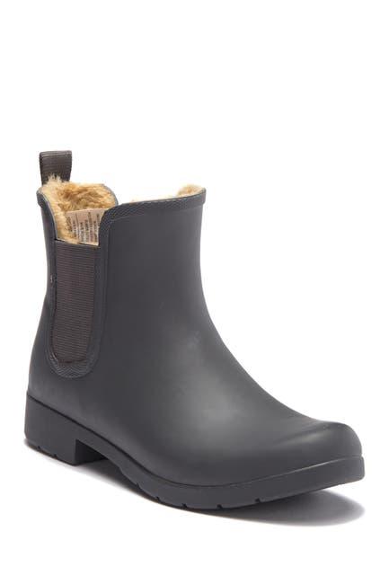 Image of Chooka Eastlake Chelsea Faux Fur Waterproof Boot