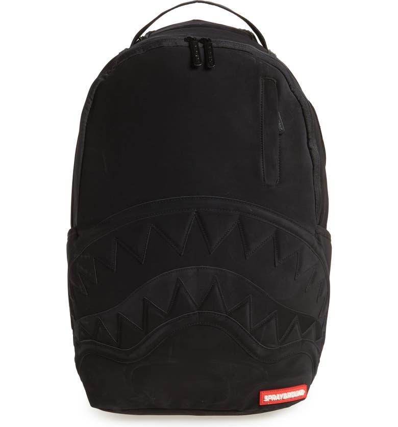 SPRAYGROUND Ghost Shark Backpack, Main, color, 001