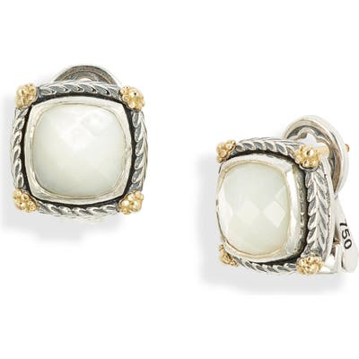 Konstantino Delos Mother-Of-Pearl Stud Earrings