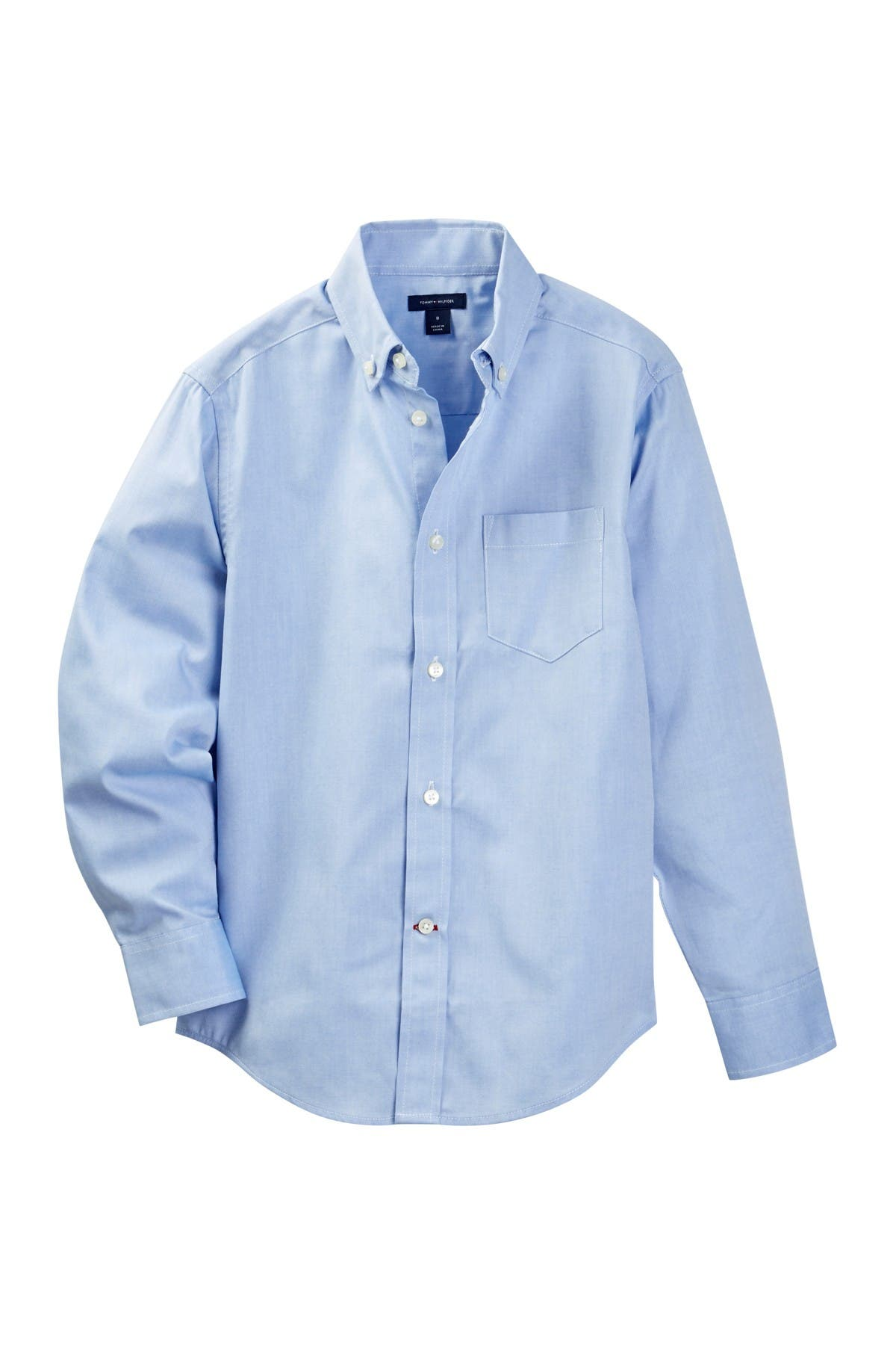 Image of Tommy Hilfiger Pinpoint Oxford Shirt