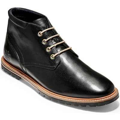 Cole Haan Raymond Grand Water Resistant Chukka Boot- Black